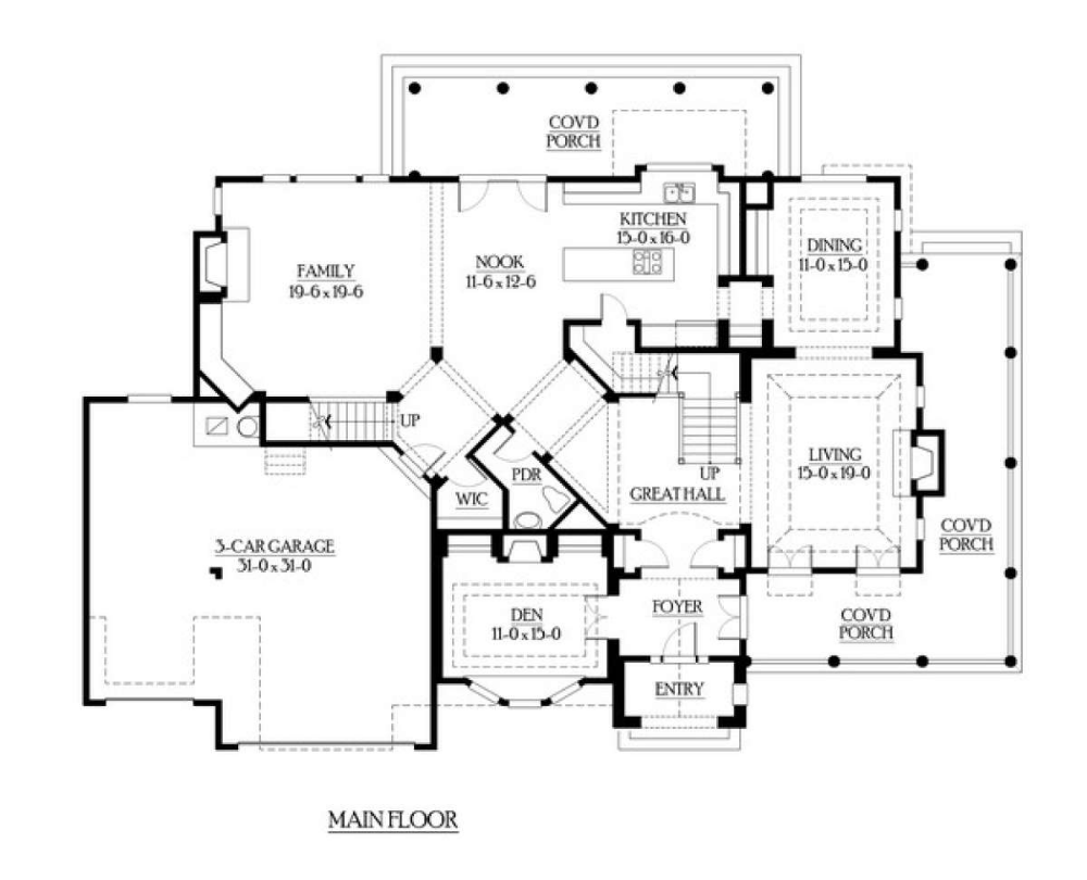 House Plan 341 00275 Country Plan 4 720 Square Feet 4 Bedrooms 3 5 Bathrooms In 2021 House Plans Dream House Plans House Plans And More