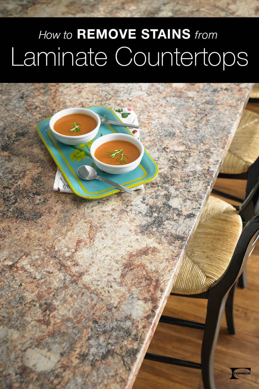 Cleaning Formica Countertops If You Have A Tough Stain On Your Laminate Countertops We Ve Got