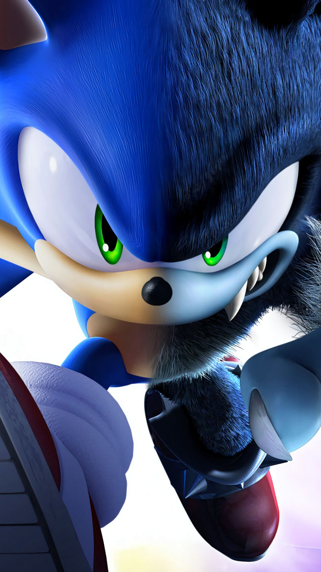 Sonic The Hedgehog Mobile HD Wallpaper in 2020 Sonic