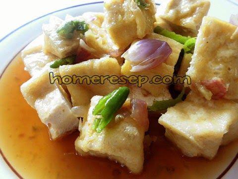 Resep Tahu Gejrot Kuah Enak Pedas Cirebon Resep Masakan Homemade Resep Tahu Resep Masakan Resep