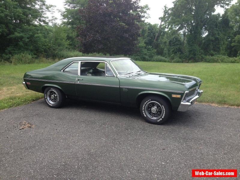 1970 Chevrolet Nova Chevrolet Nova Forsale Canada