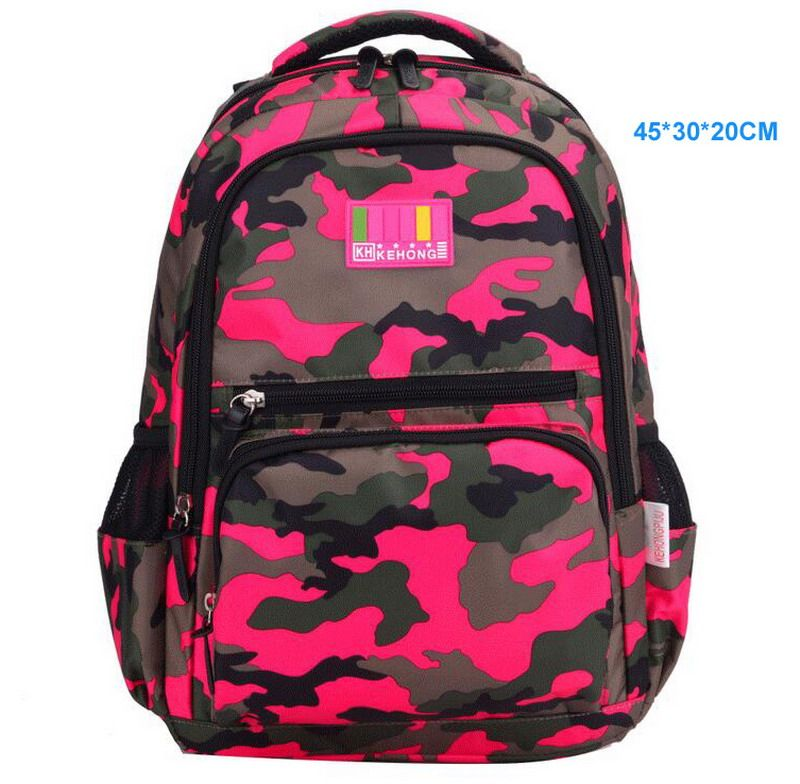 Find More School Bags Information about Large Capacity Camouflage ...