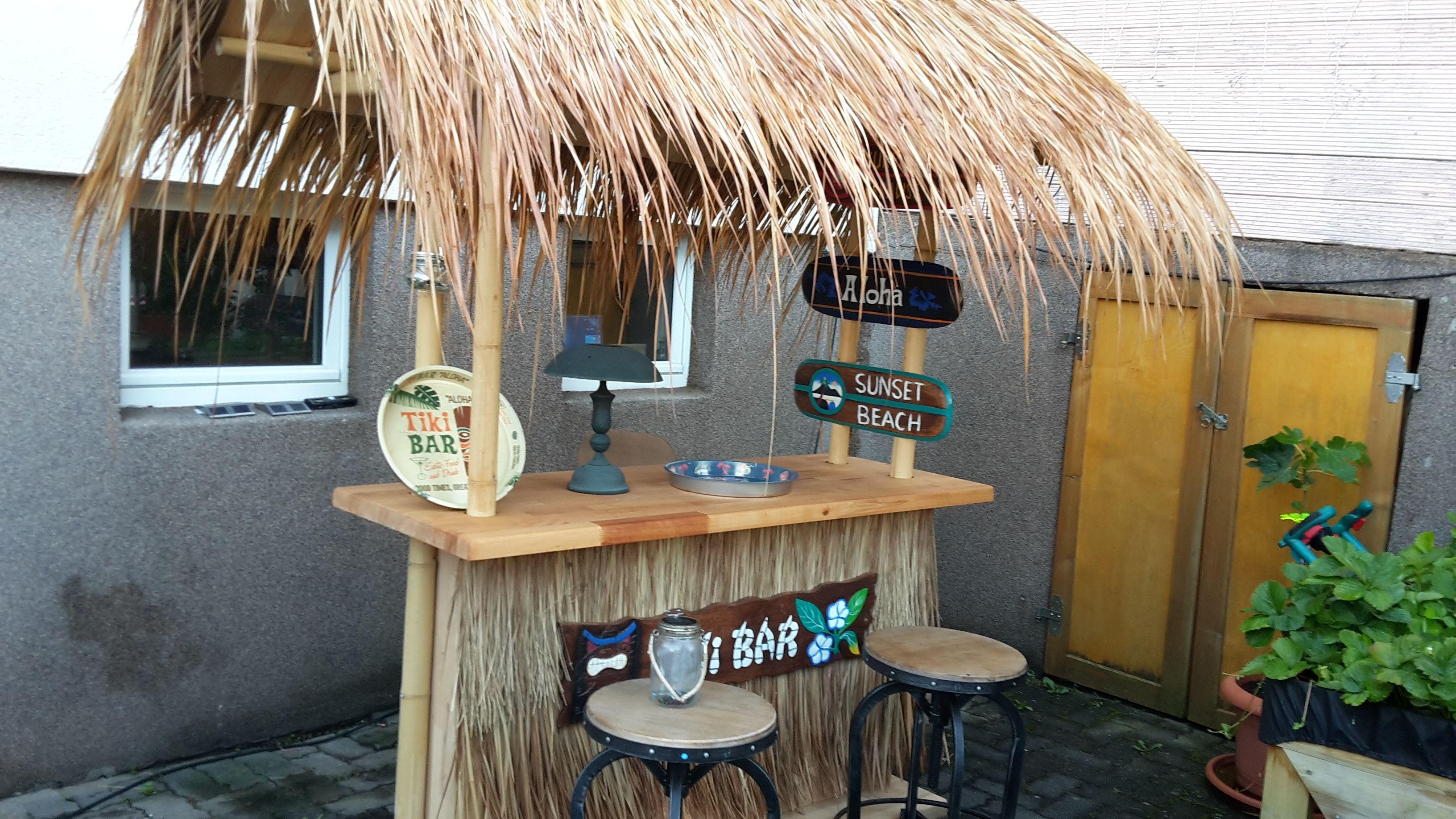 Tiki Bar Bar Selber Bauen Bambus Bar Bar Bauen