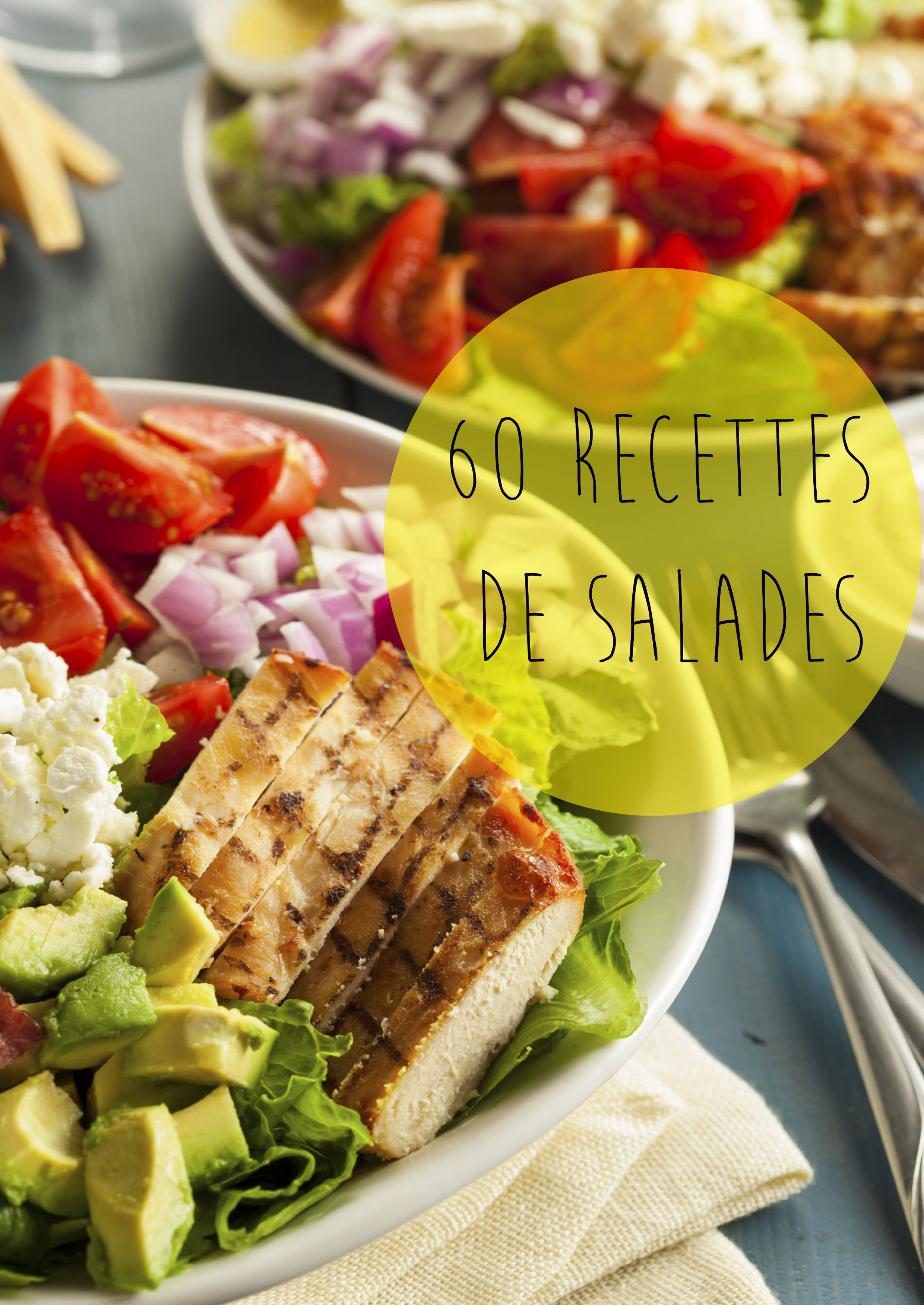 Il existe 1001 façon de préparer une délicieuse salade composée, les idées de  recettes de