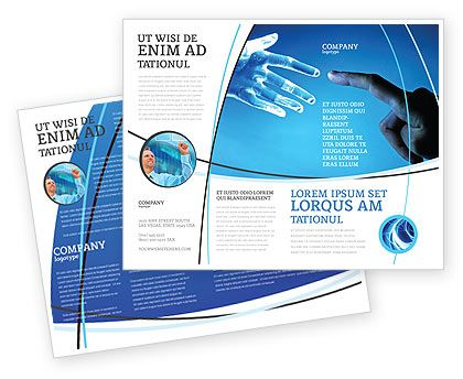 Check out new work on my @Behance portfolio  - pamphlet layout template