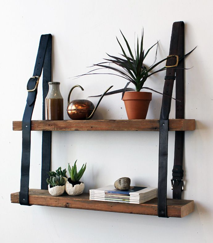 Old Belts Create Some Interesting Pieces of Furniture Create