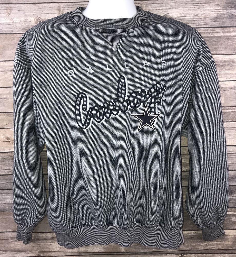 069ed0f77 Vintage NFL Dallas Cowboys LEE SPORT XL Gray and Blue Embroidered Sweatshirt  #LeeSport #DallasCowboys