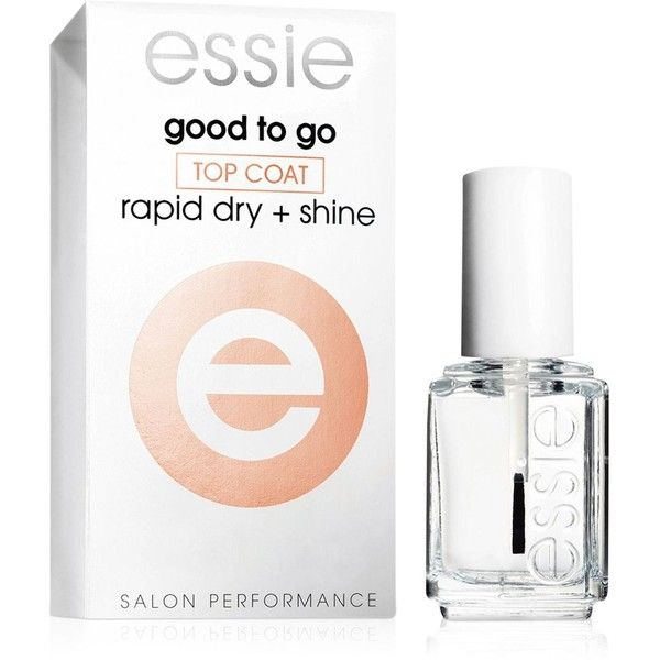 essie nail care good to go (€7,45) ❤ liked on Polyvore featuring beauty products, nail care, nail polish, good to go, essie nail polish, essie and essie nail color