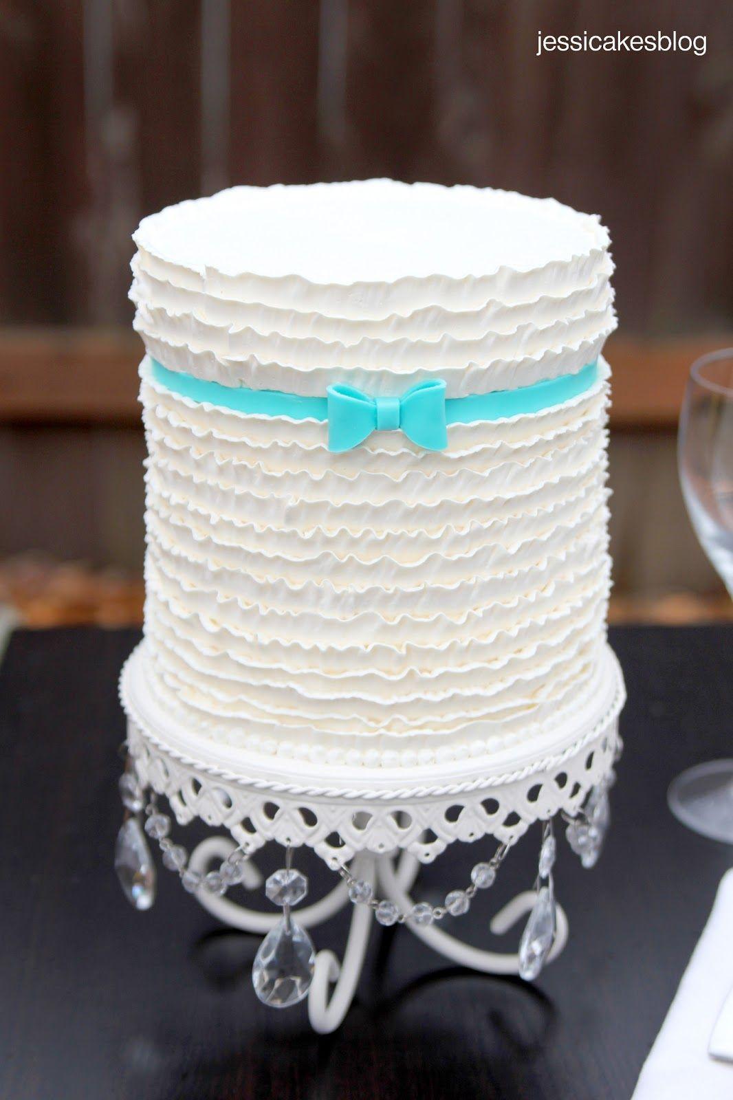 Jessicakes: Buttercream Frills (or Ruffles) Cake.