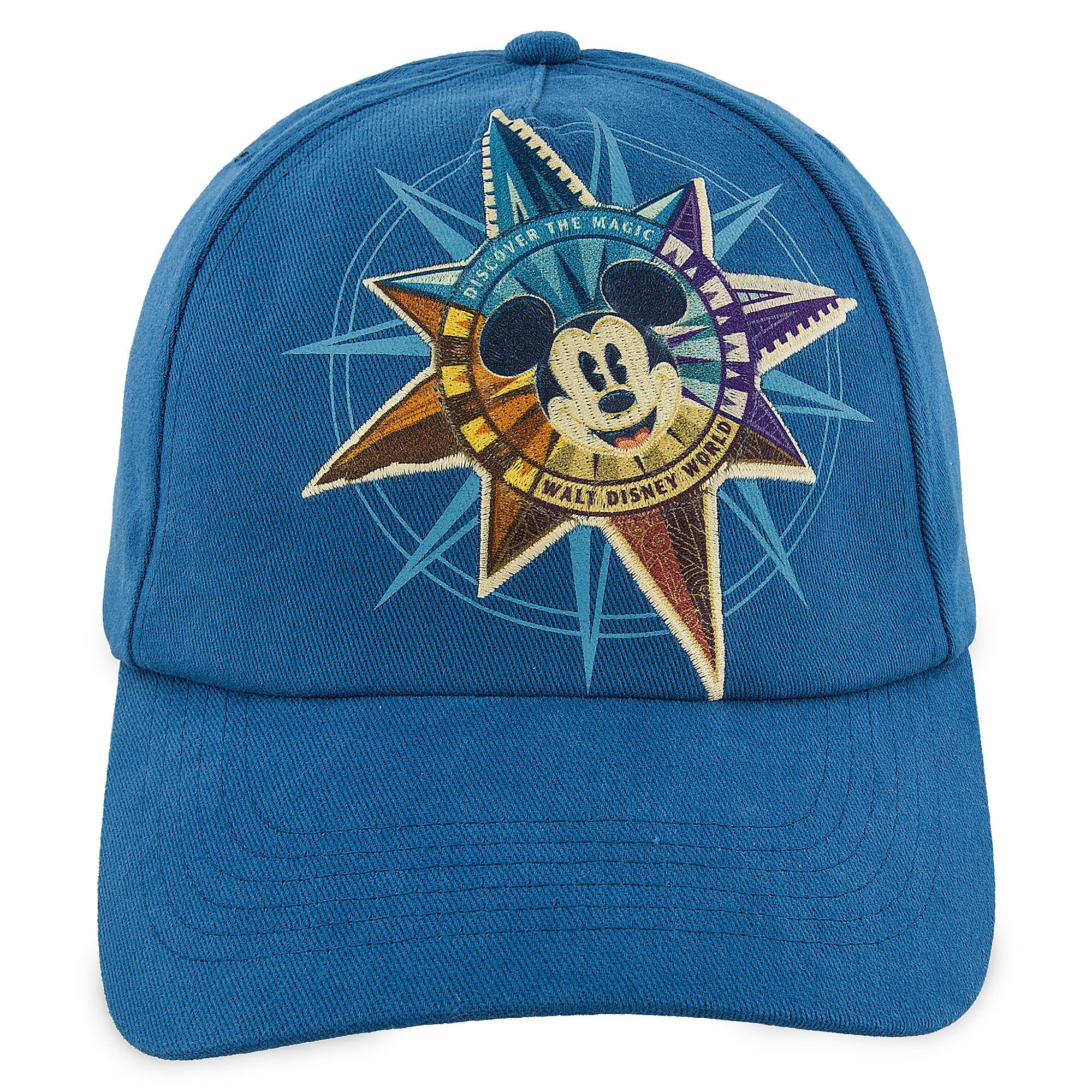 Mickey Mouse Compass Baseball Cap for Adults - Walt Disney World ... 0361859bf97