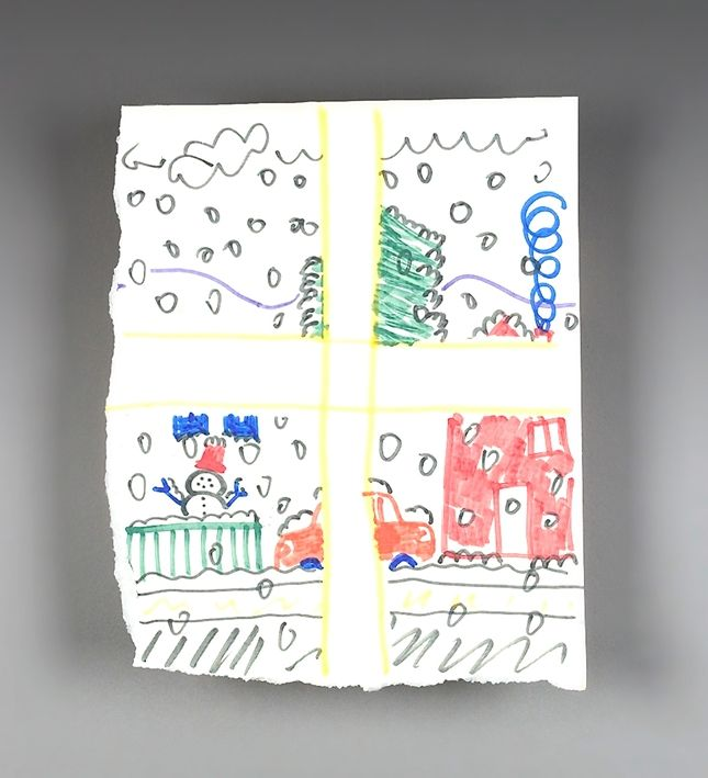 Peer through the window panes! What's the weather? Kids use Color Wonder™ Markers and Paper to draw a window on the weather.  The best part is it's mess-free!