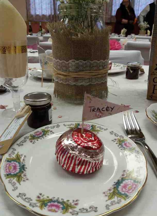 Tunnocks Teacake Place Name Vintage Afternoon Tea Wedding