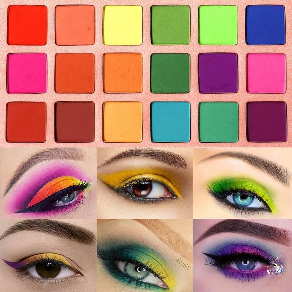 Eyeshadow Palette in 2020 Colorful eyeshadow, Eyeshadow