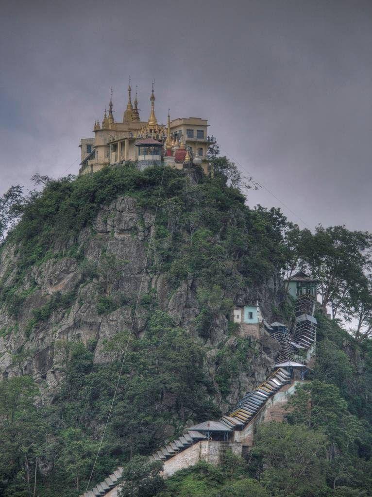The Monastery Built on a Volcanic Plug - feed2know