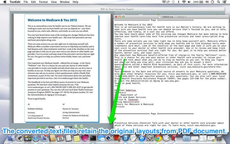 Mac App PDF to Text Converter Expert ** 4 $ NOW FREE PDF - fmla form