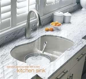 Very Nice Irregular Shaped Under Mounted Sink I Really Like The