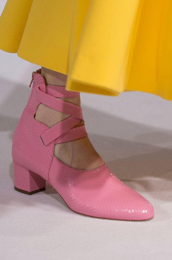 Emilia Wickstead at London Fashion Week Fall 2018