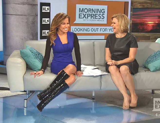 The Appreciation Of Booted News Women Blog Robin Meade