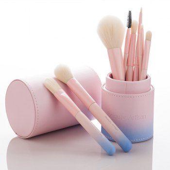 share  get it free  8 pcs fiber facial makeup brushes