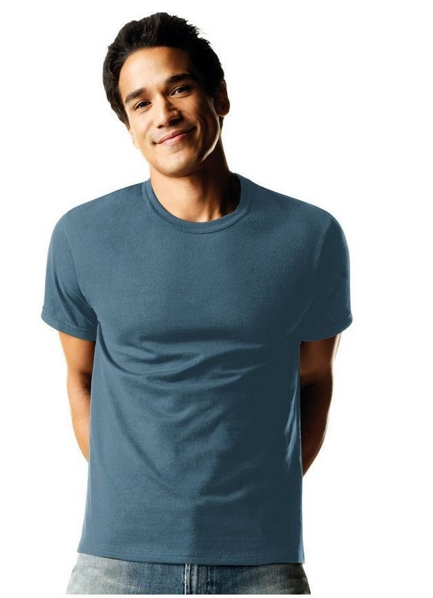 753f9306 Hanes Men's TAGLESS® ComfortSoft® Dyed Crewneck T-Shirt 4-Pack - 2165A4