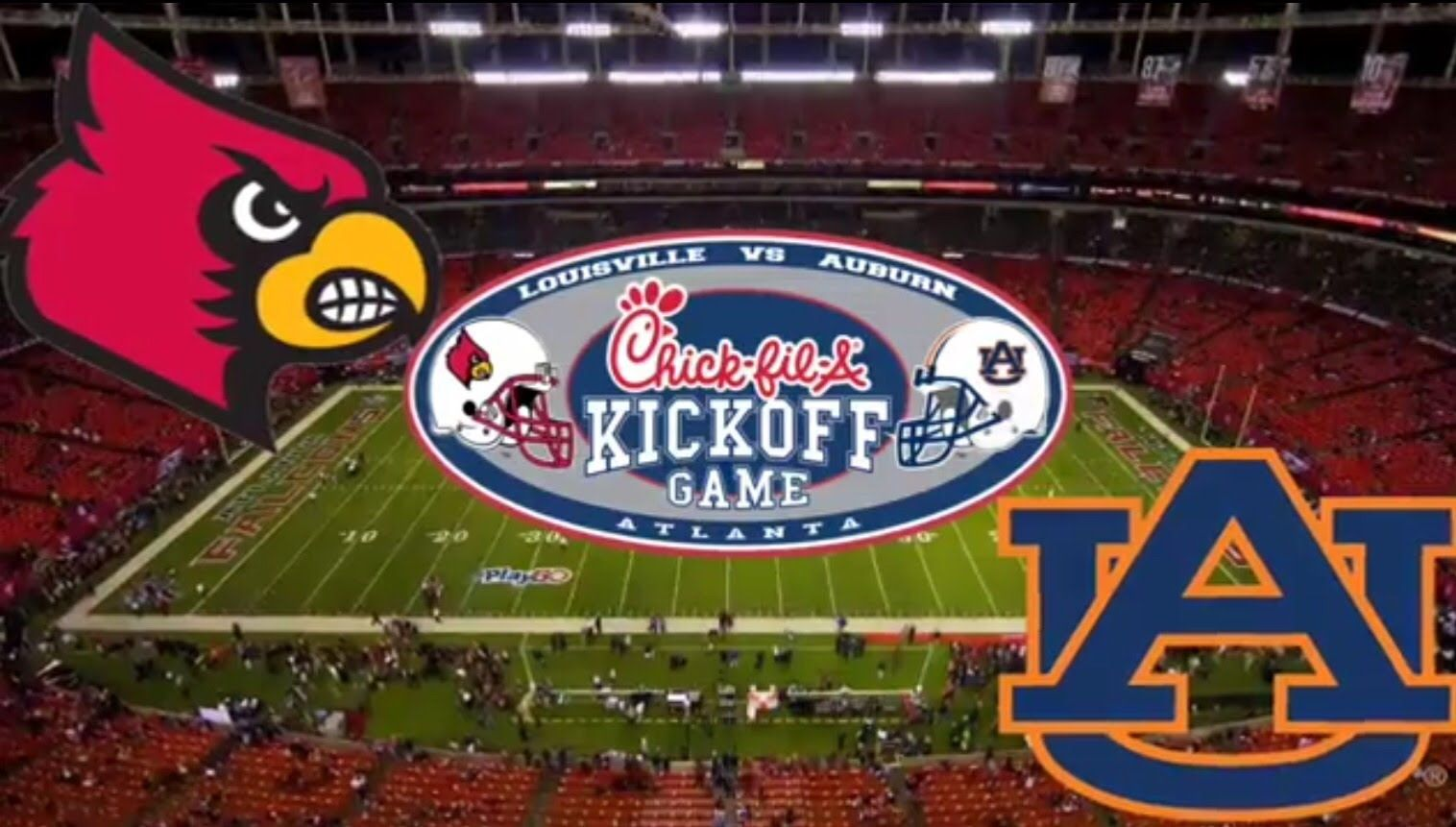 Auburn vs Louisville 20152016 Intro. (With images