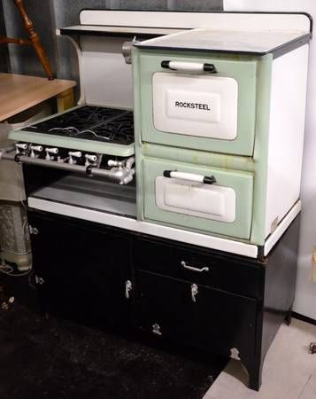 Vintage Mint Green Roper Gas Stove Chicago Craigslist 395 Gorgeous I Want To It And Put In Storage For My Someday Possibly Farmhouse The