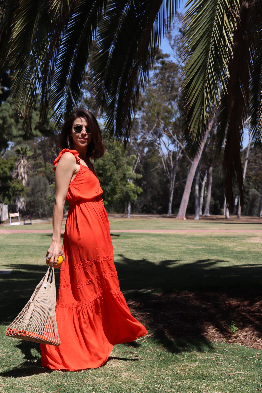 Summer Dresses Orange Dress Summer Summer Dresses Dresses [ 6000 x 4000 Pixel ]