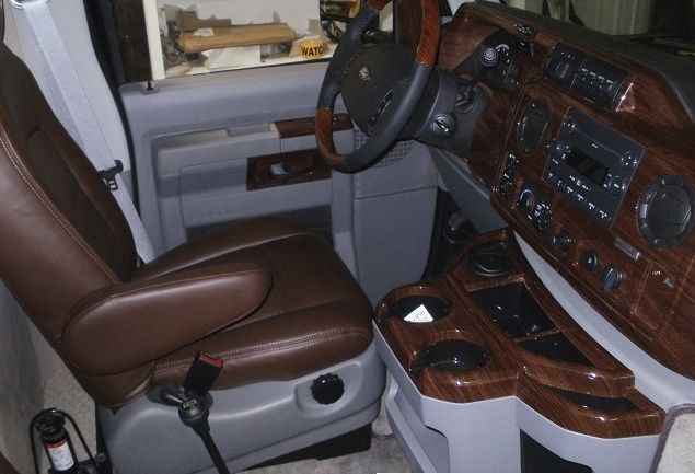 Ford #E350 Interior. We Can Make You Look #classy Or #standout!