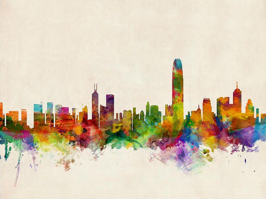 Image result for Hongkong Skyline