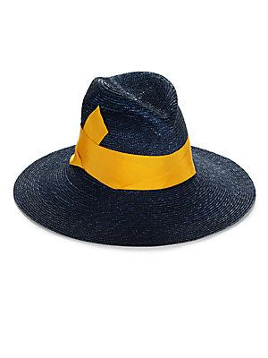 Ida Wool Felt Telescope Large Black Pork Pie Top BROOKLYN HAT CO Brooklyn Hats