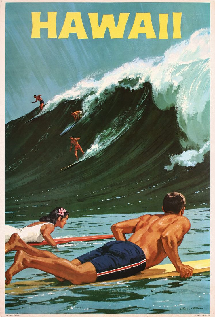 Summertime in Poster Art: Time to leave home and enjoy the