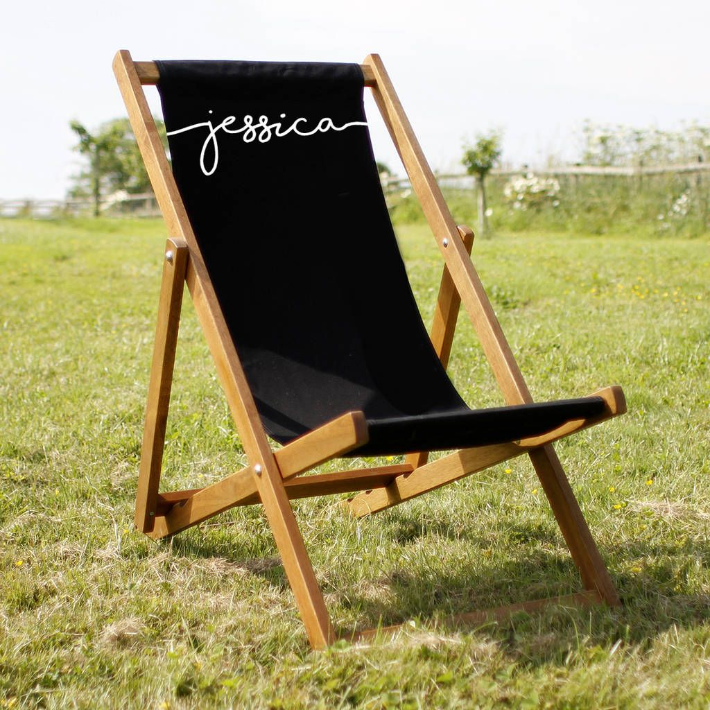 Personalised adult deckchair deck seating deck chairs and decking