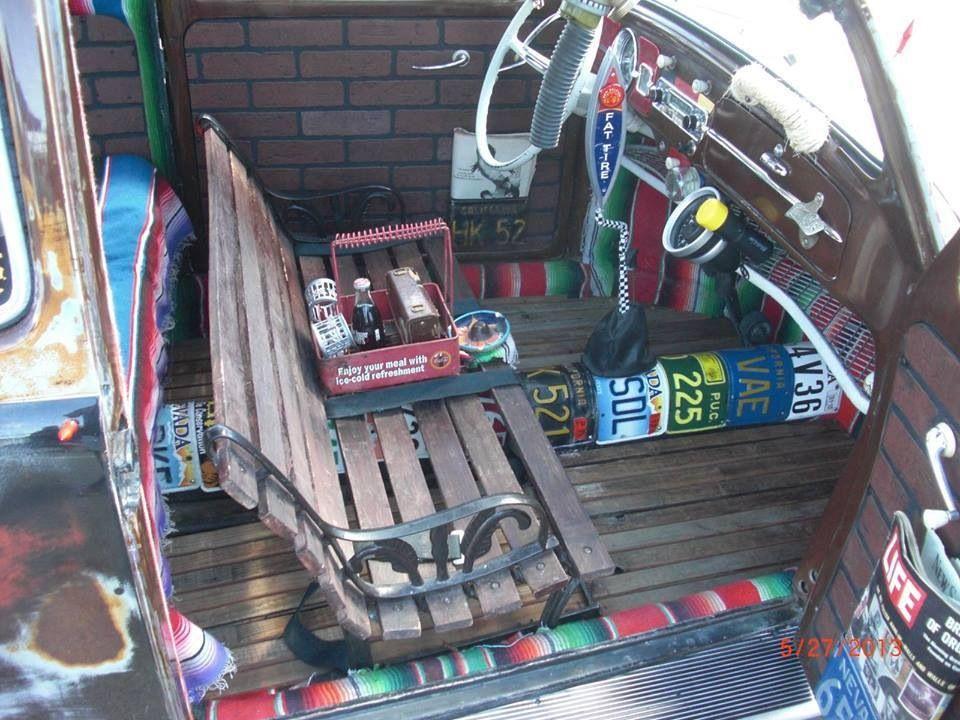 Bug Interior The Garage Baja Bug F100 Rat Rod Rat