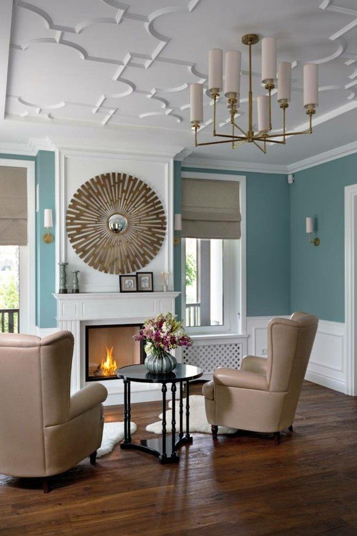 Wundervoll Wohnzimmer Einrichten Ideen Zeitgenössisch Mit Klassischen Zügen