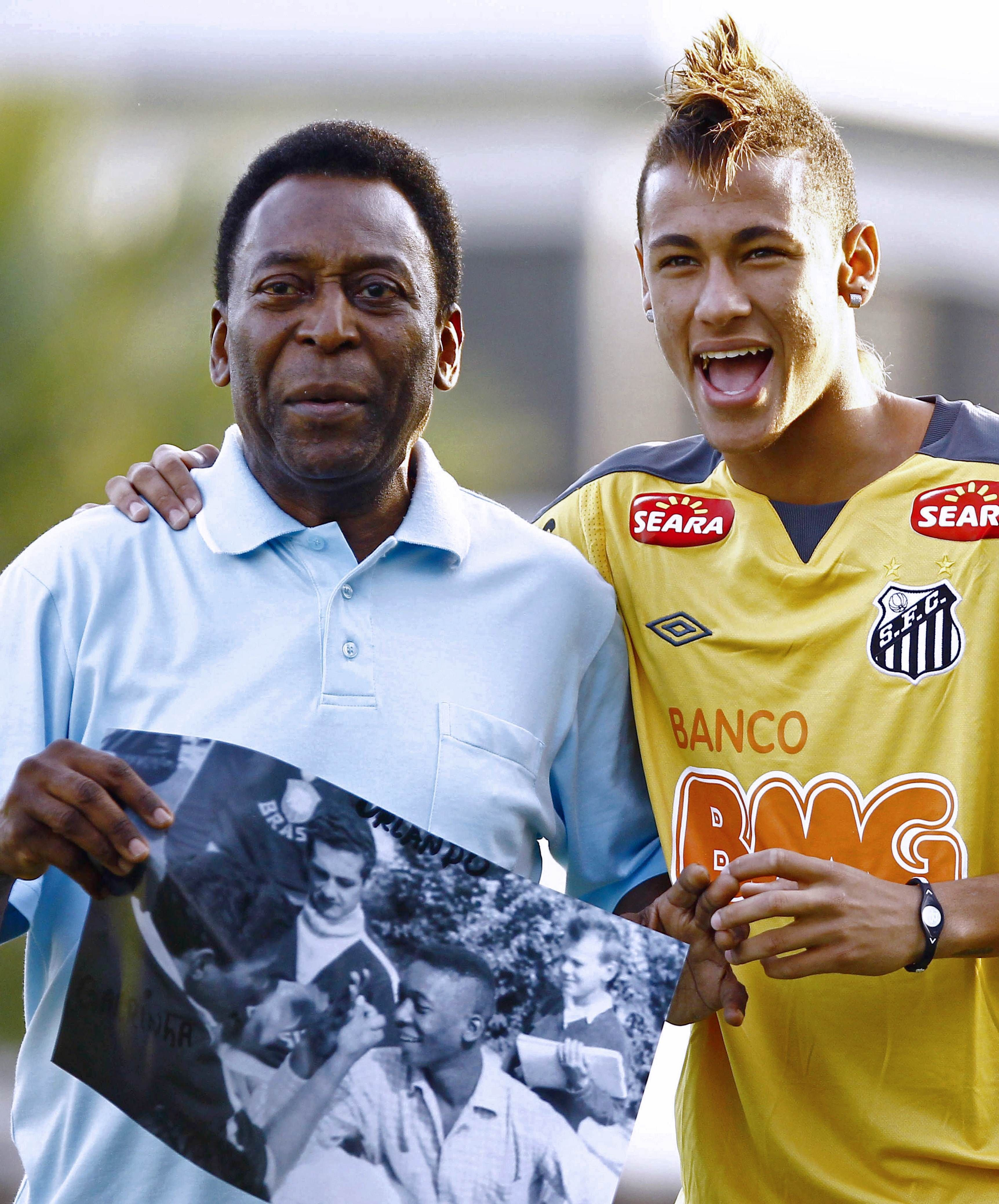 Risultati immagini per neymar e pelè