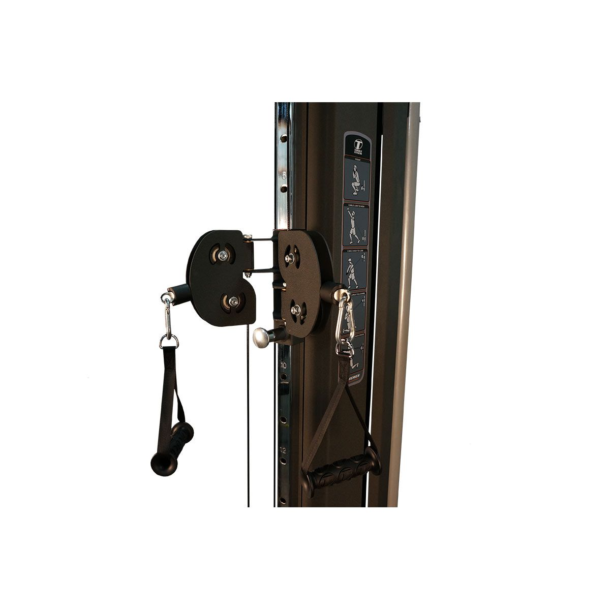 Cable component station msf pin locker storage garage gym