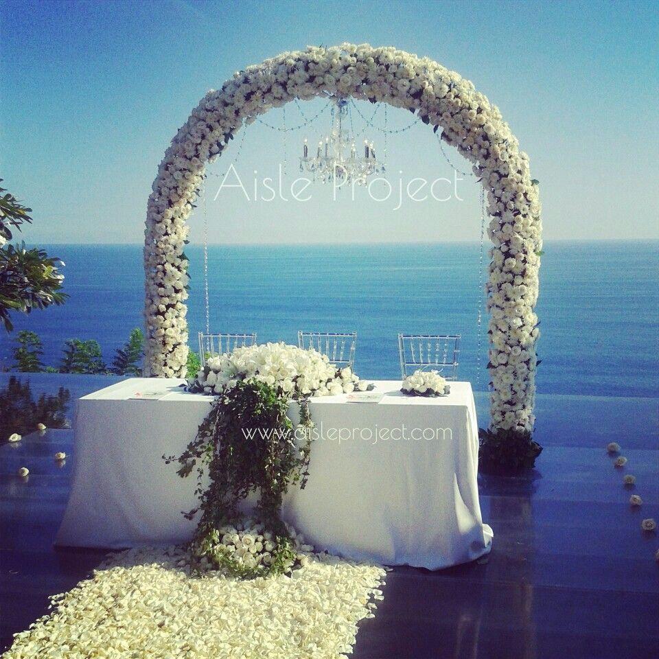 Aisle Project Bali Wedding Florist Decorator Weddings