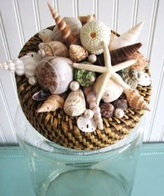 Completely Coastal Decorating Blog: Ways to Decorate Jars & Bottles Beach Style