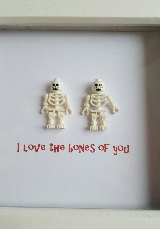 Lego box frame valentine funny gift boyfriend/husband/girlfriend ...