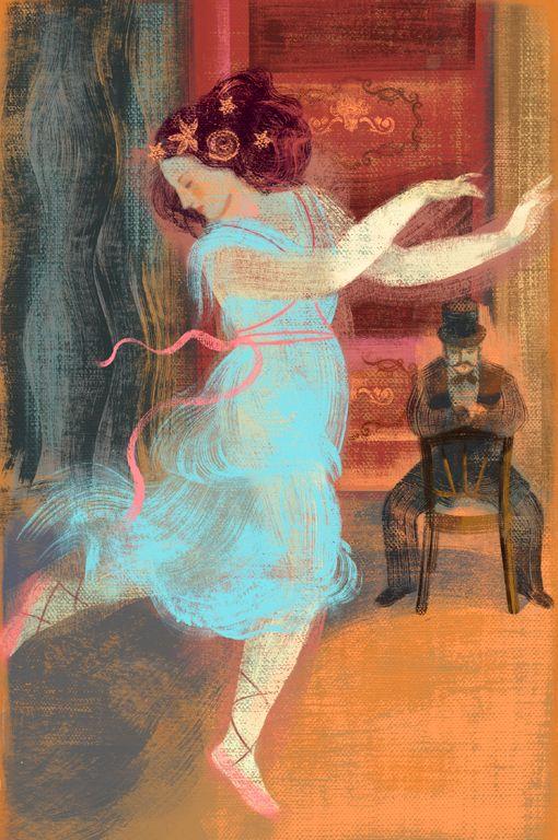 Anna + Elena Balbusso, illus for `Isadora Duncan` written by Sabina Colloredo