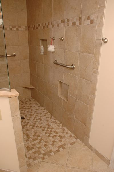 12 Universal Design Features For Any Bathroom Small Bathroom With Shower Showers Without Doors Walk In Shower Tray
