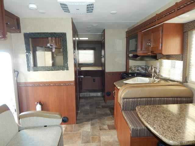 2016 New Thor Motor Coach Freedom Elite 29FE Class C in Arizona AZ.Recreational Vehicle, rv, 2016 THOR MOTOR COACH Freedom Elite29FE, Exterior-Sunrise HD-Max, Interior-Milano Brown II, Olympic Cherry Cabinetry,