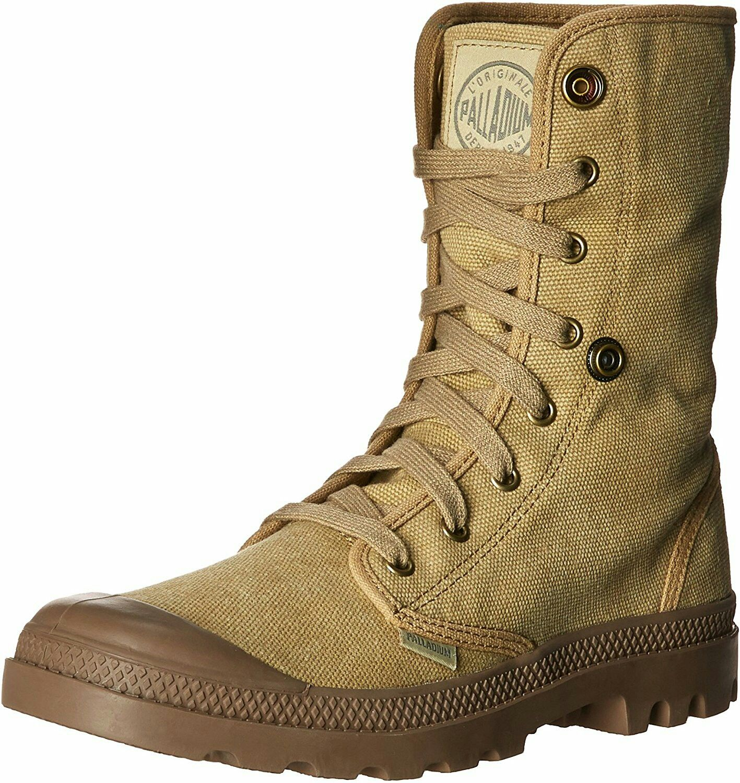 de28dcd8250 Palladium Boots Mens Baggy Canvas Boots , Stonewash Dark Kaki   My ...