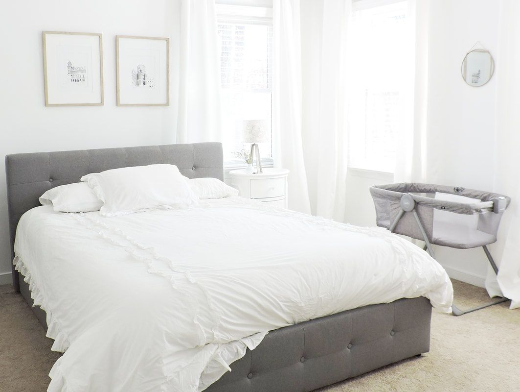 Master Bedroom Makeover by Mandy Fitzgerald Artwork, Richmond ...