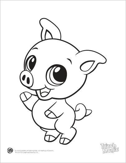 Pin Von Linda Skold Auf Color Pages 4 My Grands Malvorlagen Tiere Baby Schwein Tiere Zeichnen
