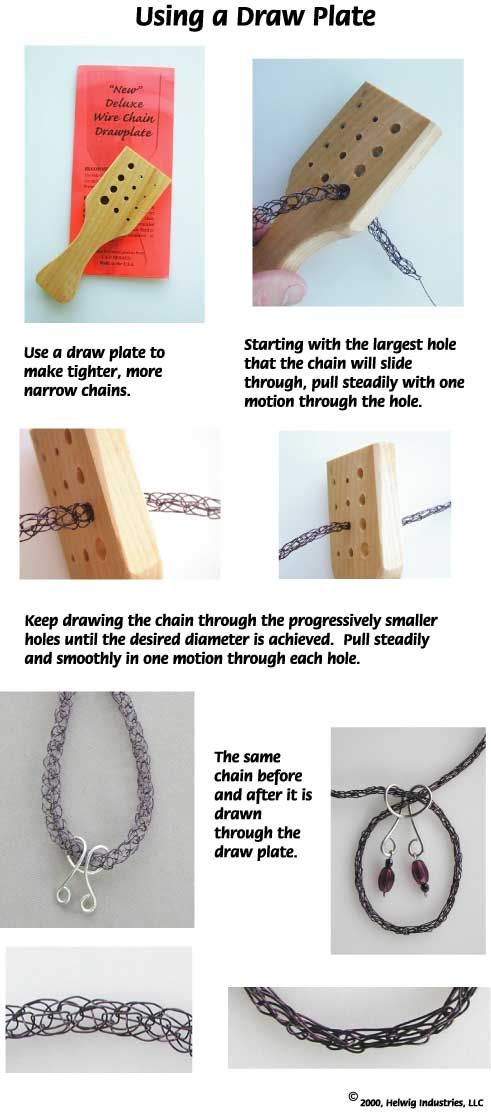 Using a draw plate | Tips & Tools for the Jewels | Pinterest ...