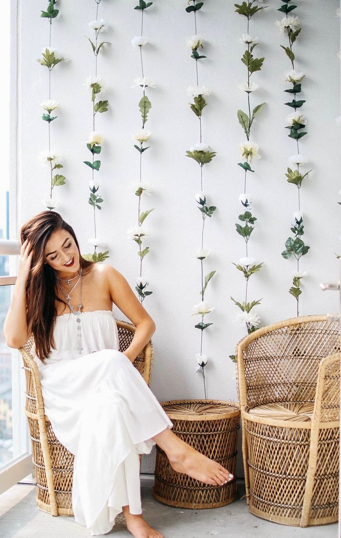 Diy Wall Flowers: DUSTY BLUE WEDDINGS