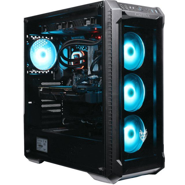 Highend Gaming I53-952 Gaming-PC (Intel Core i9, RTX 2070 SUPER, 16 GB RAM, 1000 GB SSD, Wasserkühlu