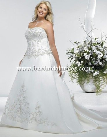 Plus size wedding gown, Private Label Signature Plus Wedding Dresses ...